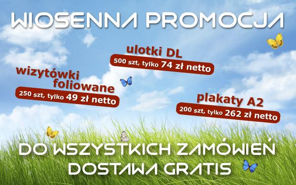 Promocja Spring 2014