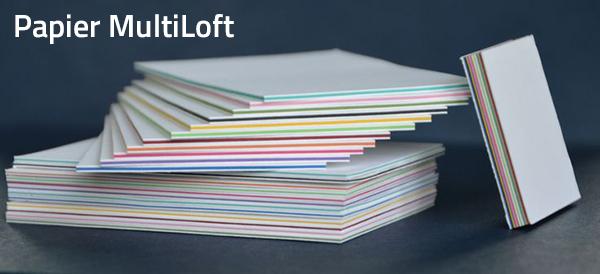 wizytówki na papierze multiloft